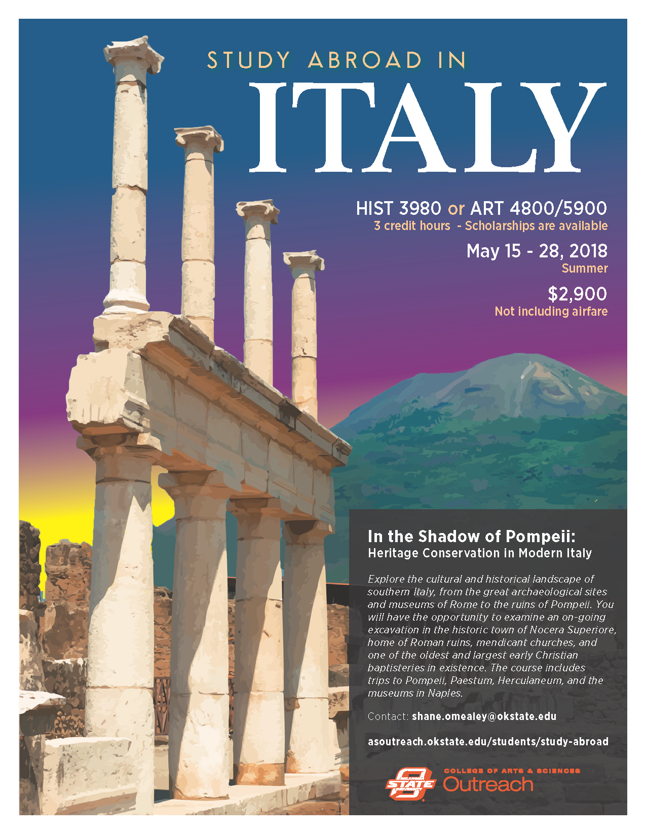 Study Abroad in Spoleto, Italy