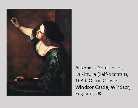 Self portrait as the Allegory of Painting by Artemisia Gentileschismall3